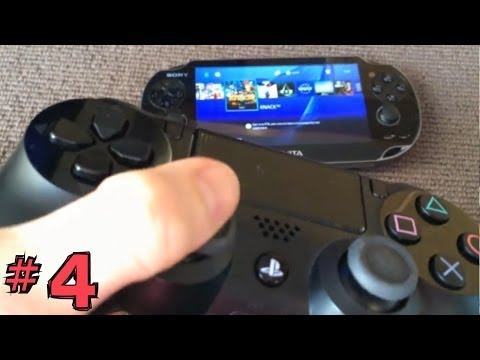 PS4 Vita Hack (4 of 4): Control Vita with Dual Shock 4 Set-Up
