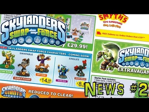 Skylanders Price Crash Before Possible Toy Fair Announcement - YouTube thumbnail