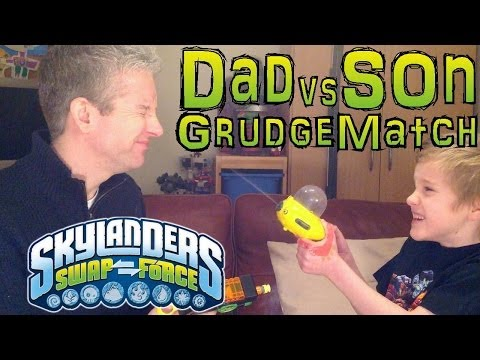 Skylanders Top Trumps Grudge Match #18 – Quicksand Quarry level with Thumpback vs Eye Brawl - YouTube thumbnail