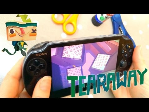 Tearaway PlayStation Vita Family Review