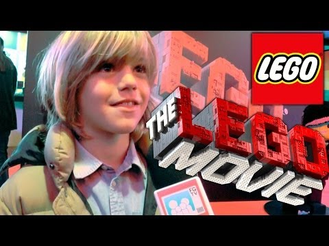 The Lego Movie Premiere — Harry Hickles Talks Lego and Eastenders Tips - YouTube thumbnail