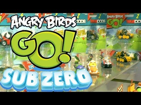 "Angry Birds Go! ""Sub Zero"" Series 2 – Karts, Characters & Snowmobiles - YouTube thumbnail"