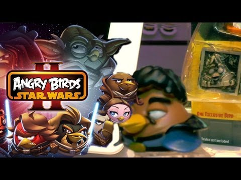 Angry Birds Star Wars II Carbonite Packs Hands-On - YouTube thumbnail