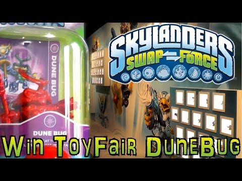 Comp: Toy Fair Dune Bug (1 of 3) – Spot The Classic Skylanders to Win - YouTube thumbnail