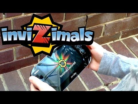 Invizimals London Launch Party – Vita/PS3 Game, Toys, Panini Cards & Cartoon - YouTube thumbnail