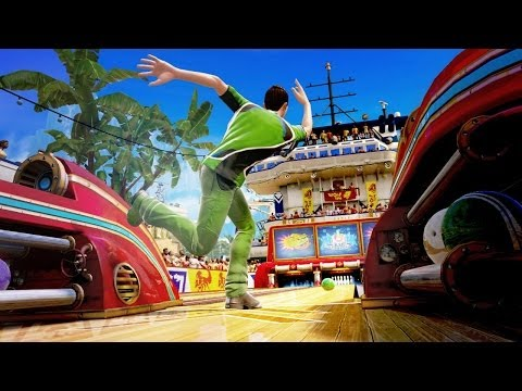 Kinect Sports Rivals Bowling – Xbox One Let's Play - YouTube thumbnail