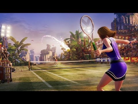 Kinect Sports Rivals Tennis – Xbox One Let's Play - YouTube thumbnail