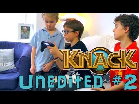 Knack 3-2 Brother's Second Ever Go On PS4 – Unedited Family Let's Play #2 - YouTube thumbnail