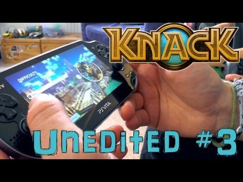 Knack 3-3 Brother's Test Vita-PS4 Combo – Unedited Family Let's Play #3 - YouTube thumbnail