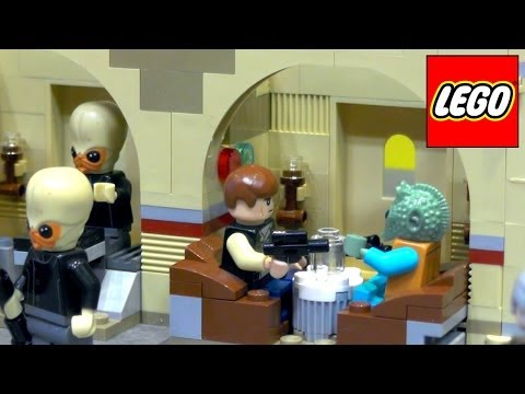 Lego Star Wars – Rebels Phantom/Ghost, B Wing, Jedi Scout, Mos Eisley Cantina, At At, Star Destroyer - YouTube thumbnail