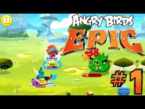 Let's Play Angry Birds Epic #1 – First 30 Minutes - YouTube thumbnail
