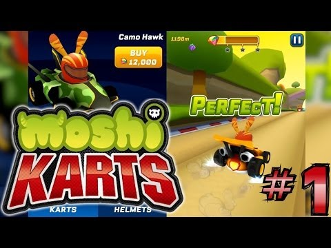 Let's Play Moshi Karts #1 – First 30 minutes - YouTube thumbnail