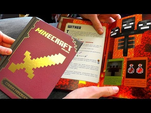 Minecraft Combat Handbook Guide Book Review - YouTube thumbnail
