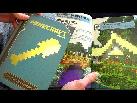 Minecraft Construction Handbook Guide Book Review - YouTube thumbnail