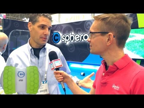 Sphero 2B – The Superfast Smartphone Robot: Hands-On & CEO Interview - YouTube thumbnail