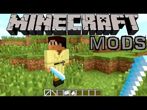 Mincraft Mod Showcase – Star Wars, Paleocraft Dinosaurs and Tornadoes - YouTube thumbnail