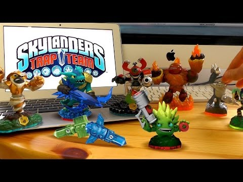 Skylanders Trap Team Starter Pack Review & Chaos Element Theory - YouTube thumbnail