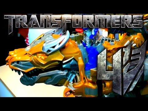 Transformers Age of Extinction & Generations Toy Review - YouTube thumbnail