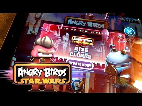 "Angry Birds Star Wars II ""Rise of The Clones"" & Series 2 Toys - YouTube thumbnail"