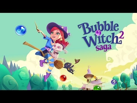Bubble Witch Saga 2 Announced – Gameplay - YouTube thumbnail