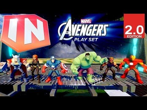 Disney Infinity 2.0 Avengers Play Set Trailer - YouTube thumbnail