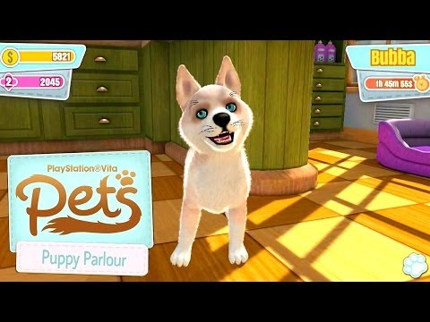Let's Play PlayStation Vita Pets: Puppy Parlour on iOS - YouTube thumbnail