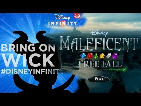 Maleficent Lands in Disney Infinity & Freefall App - YouTube thumbnail