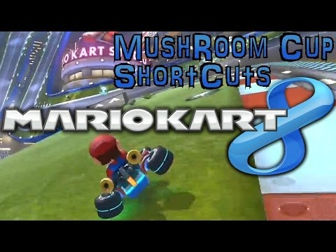 Mario Kart 8 Mushroom Cup Short-Cuts & Tips - YouTube thumbnail
