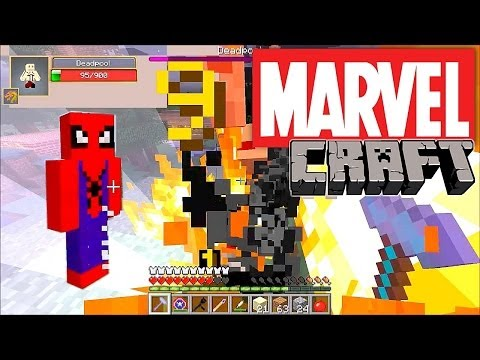 MarvelCraft – Minecraft Mod Showcase - YouTube thumbnail