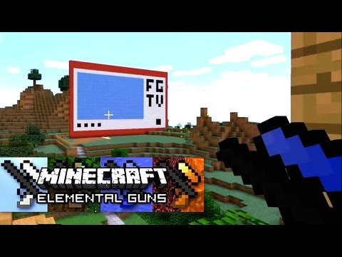 Minecraft Mod Showcase – Elemental Guns - YouTube thumbnail