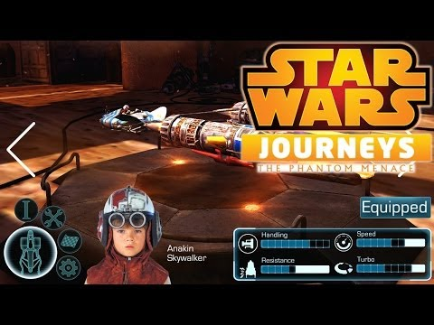 Star Wars Journeys iOS HD Trailer - YouTube thumbnail