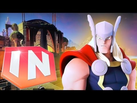 Disney Infinity 2.0 Marvel Toy Box – Asgard Tower Defence - YouTube thumbnail