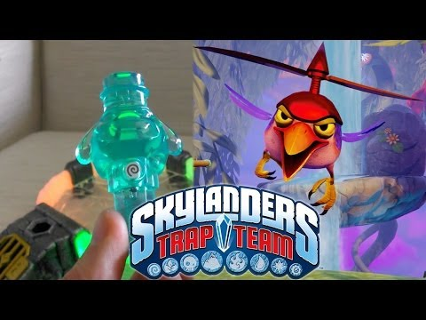 "Exclusive Trap Team ""Buzzer Beak"" Villain & Trap Reveal - YouTube thumbnail"