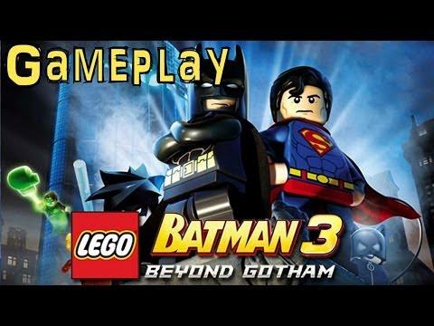 Lego Batman 3: Beyond Gotham (Game-Play 1 of 2) - YouTube thumbnail