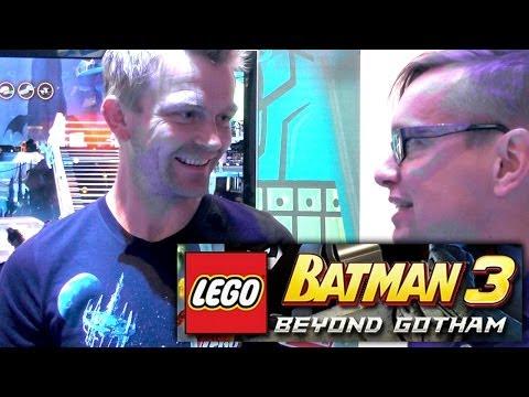 Lego Batman 3 Director Interview – Wii U, Xbox, PlayStation, Vita, 3DS - YouTube thumbnail