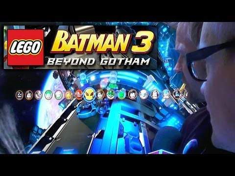 Let's Play Lego Batman 3 (Level 3) With Game Director - YouTube thumbnail