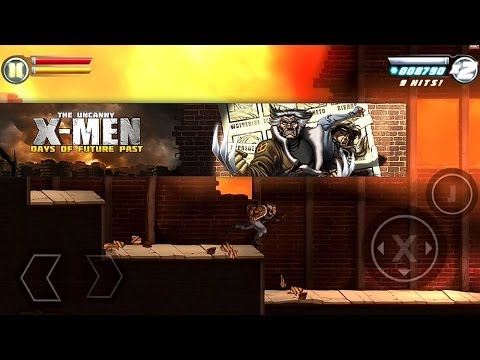 Let's Play Uncanny X-Men iOS (Kitty Pryde, Wolverine, and Colossos) - YouTube thumbnail