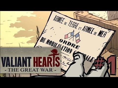 Let's Play Valiant Hearts – The Great War #1 First 20 Minutes - YouTube thumbnail