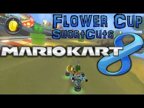 Mario Kart 8 Flower Cup Shortcuts & Tips - YouTube thumbnail