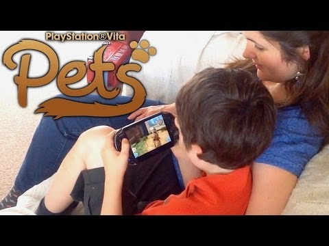 PlayStation Vita Pets Review (9/10) - YouTube thumbnail