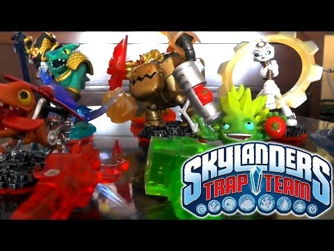 Skylanders Trap Team – CEO Reveals More Female Skylanders, Villain Sculpts - YouTube thumbnail