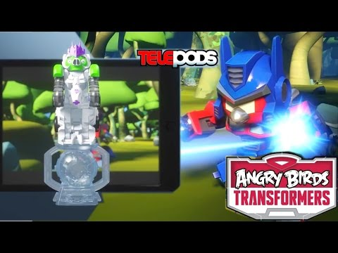 Angry Birds Transformers – Official Gameplay Trailer Analysis - YouTube thumbnail