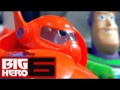 Big Hero 6 Bandai – Deluxe Flying Baymax, Armor-Up Baymax (Part 2 of 3) - YouTube thumbnail