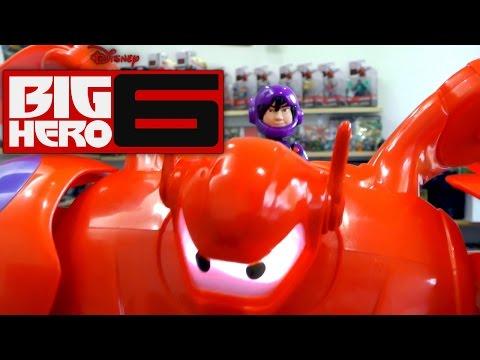 Big Hero 6 Bandai Toys – 4″ Action Figures, Limited Edition Baymax (Part 3 of 3) - YouTube thumbnail