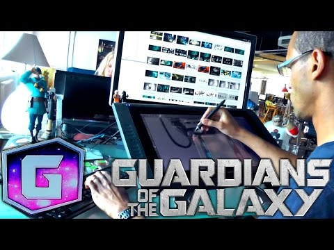 Disney Infinity 2.0 Guardians of the Galaxy – Concept Artist (6 of 6) - YouTube thumbnail