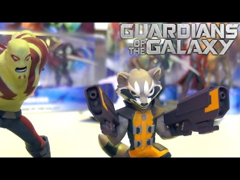 Disney Infinity 2.0 Guardians of the Galaxy – Toy Figures Up Close (4 of 6) - YouTube thumbnail