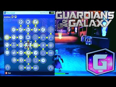 Disney Infinity: Guardians of the Galaxy – All Characters Fully Upgraded (2 of 6) - YouTube thumbnail