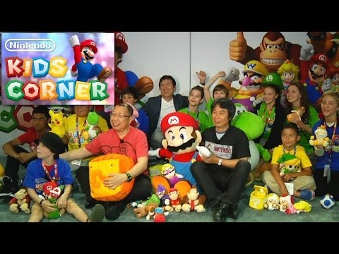 Kids Invade E3 & Meet Mario, Zelda and Pokemon Creators - YouTube thumbnail