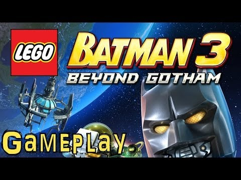 Lego Batman 3: Beyond Gotham (Direct Capture Game-Play 2 of 2) - YouTube thumbnail