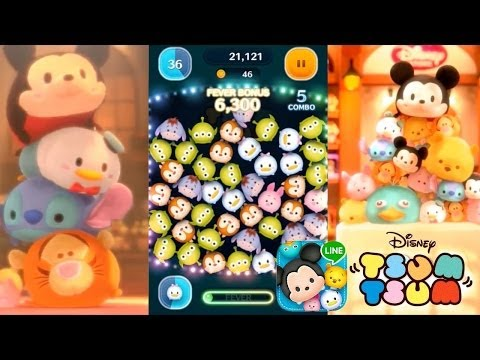 Let's Play Line: Disney Tsum Tsum – First 15 Mins & In-App Purchases - YouTube thumbnail
